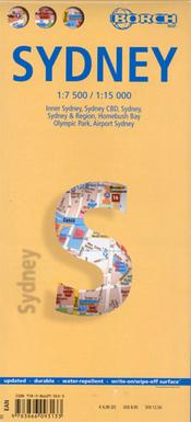 Stadsplattegrond Sydney   Borch Maps
