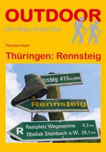 Wandelgids Th�ringen: Rennsteig   Conrad Stein