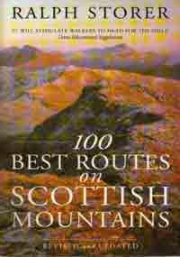 Wandelgids 100 Best Routes on Scottish Mountains   Sphere - Ralph Storer   Ralph Storer