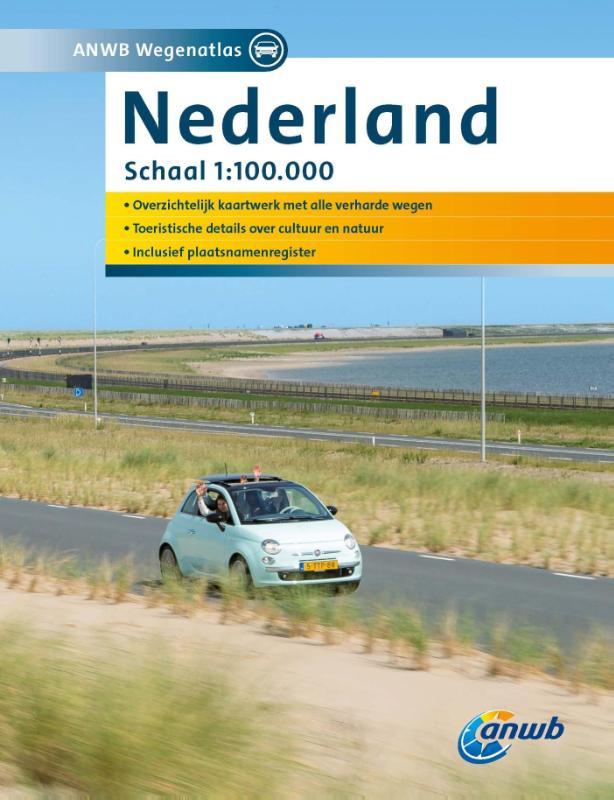 Wegenatlas Nederland   ANWB