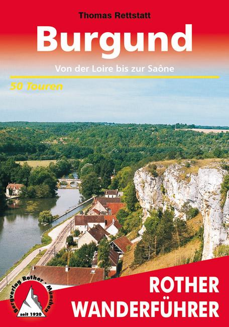 Wandelgids Bourgondië - Burgund   Rother Verlag