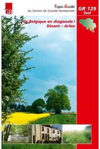 Wandelgids GR 129 - WALLONIË SUD - Ardennen   GR Belgie
