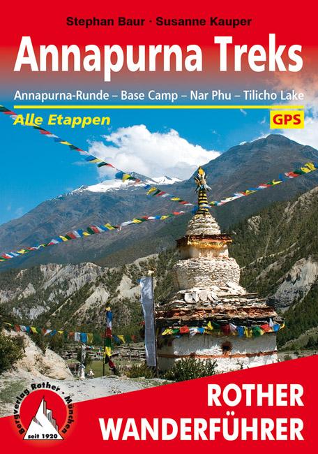 Wandelgids Annapurna Treks   Rother verlag   Stephan Baur,Susanne Kauper