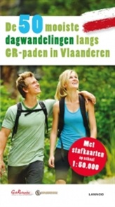 Wandelgids de 50 mooiste dagwandelingen langs GR-paden in Vlaanderen   Lannoo