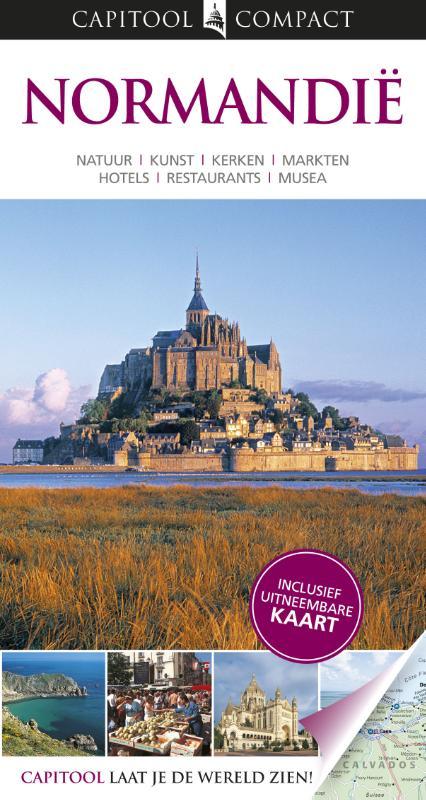Reisgids Normandië- Capitool Compact   Unieboek