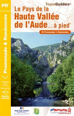 Wandelgids P112 Le Pays de la Haute-Vallée de l'Aude... à pied   FFRP