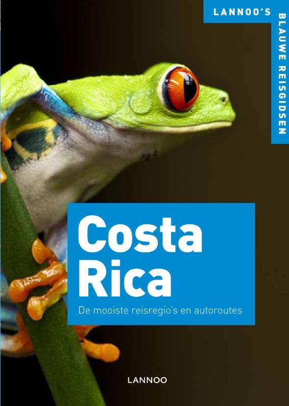 Reisgids Costa Rica - blauwe reisgids   Lannoo