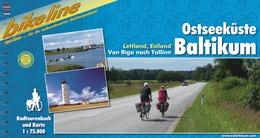 Fietsgids Ostseekuste Baltikum - Baltische Staten: Estland, Letland   Bikeline
