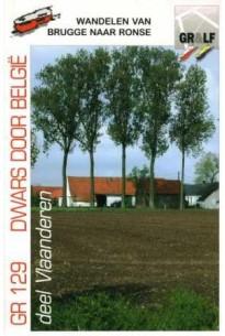 Wandelgids GR 129 Wandelen van Brugge naar Ronse   Grote Routepaden