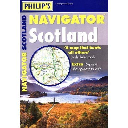 Wegenatlas Navigator Scotland - Schotland   Philip's
