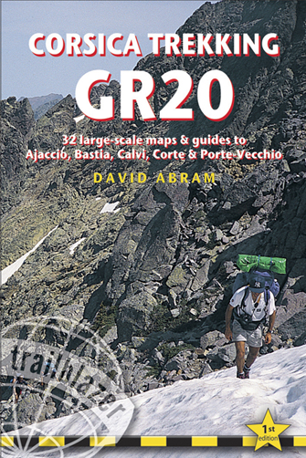 Wandelgids Corsica Trekking GR20    Trailblazer   David Abram
