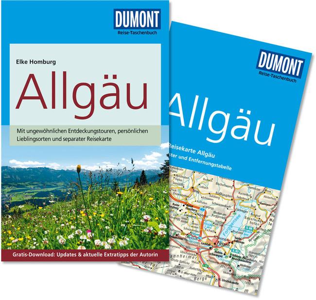 Reisgids Allg�u   Dumont reise-taschenbuch   Elke Homburg