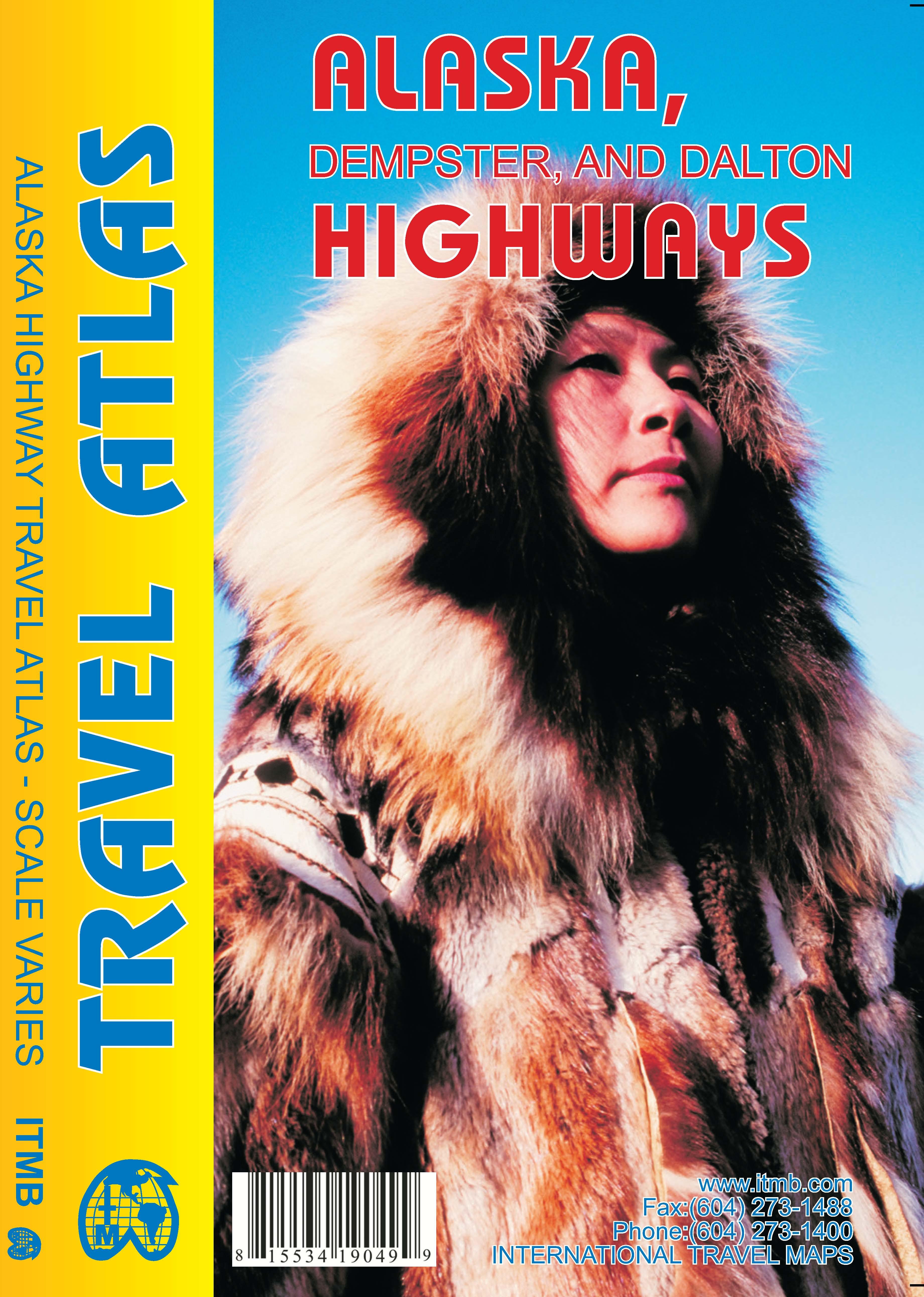 Wegenatlas Alaska Highway Atlas   ITMB