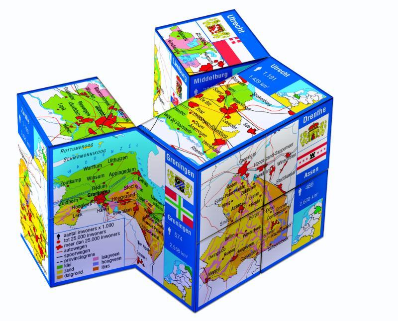 Zoobookoo kubusboek Nederland-Provincies   Scala Leuker leren BV