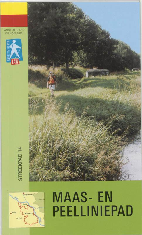 Wandelgids Maas- en Peelliniepad RP14 streekpad   LAW