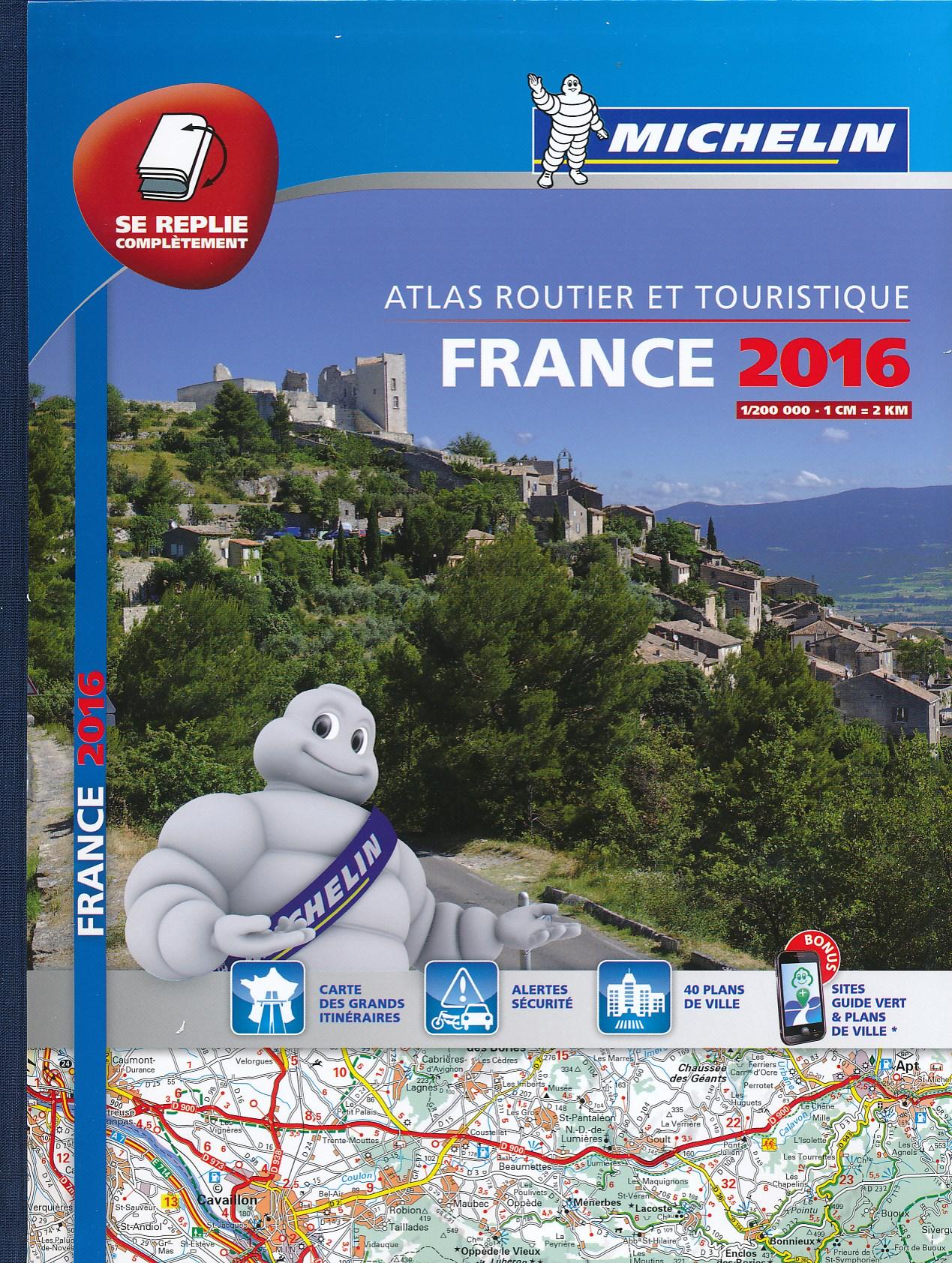 Wegenatlas Atlas Routier et Touristique France 2016   Michelin