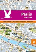 Reisgids + plattegrond Parijs in kaart   Dominicus