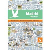 Reisgids + plattegrond Madrid in kaart   Dominicus