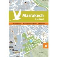 Reisgids + plattegrond Marrakech in kaart   Dominicus