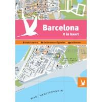 Reisgids + plattegrond Barcelona in kaart   Dominicus