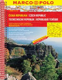 Wegenatlas Tsjechië - ?eská Republika   Marco Polo   MAIRDUMONT GmbH & Co. KG