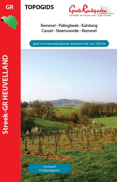 Wandelgids Streek GR Heuvelland   Grote Routepaden