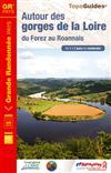Wandelgids ref 420 Autour des gorges de la Loire   FFRP
