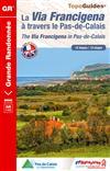 Wandelgids La Via Francigena à travers le Pas-de-Calais   FFRP ref 1451