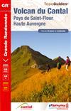 Wandelgids ref 400 Volcan du Cantal - Pays de Saint-Flour et Ruynes-en-Margeride   FFRP