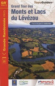 Wandelgids 1201 Grand Tour des Monts et Lacs du Lévézou   FFRP