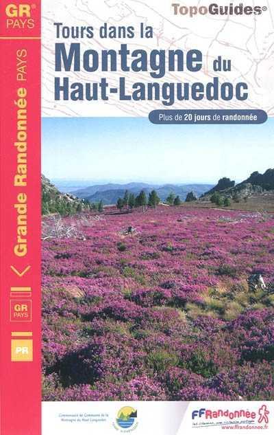 Wandelgids 3481 Tours dans la Montagne du Haut-Languedoc   FFRP