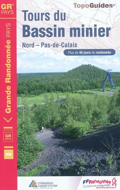 Wandelgids 5962 Tours du Bassin Minier Nord - Pas-de-Calais   FFRP