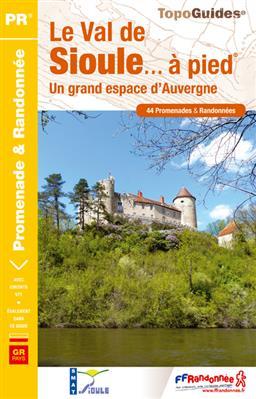Wandelgids P032 Le Val de Sioule à pied   FFRP   FFRP,