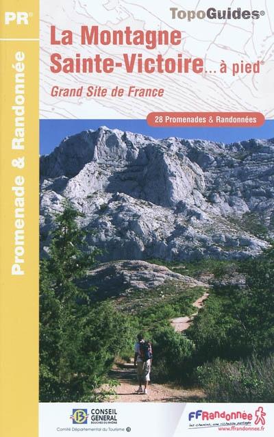 Wandelgids P131 Montagne Sainte-Victoire à pied   FFRP   FFRP
