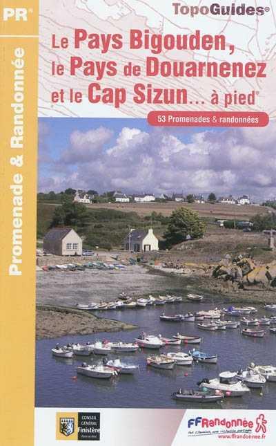 Wandelgids P294 Le Pays Bigouden, le Pays de Douarnenez et le Cap-Sizun à pied   FFRP   FFRandonnée,