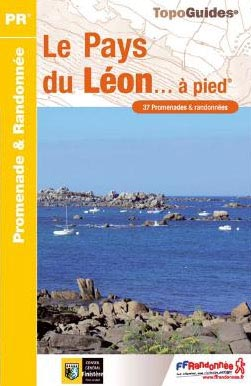 Wandelgids P296 Le Pays du Léon... à pied   FFRP   FFRP,