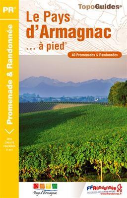 Wandelgids P322 Le Pays d'Armagnac à pied   FFRP   FFRP,