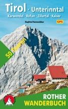 Wandelgids Tirol - Unterinntal   Rother Wanderbuch   Siegfried Garnweidner