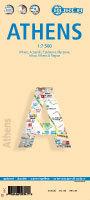 Stadsplattegrond Athene   Borch Maps