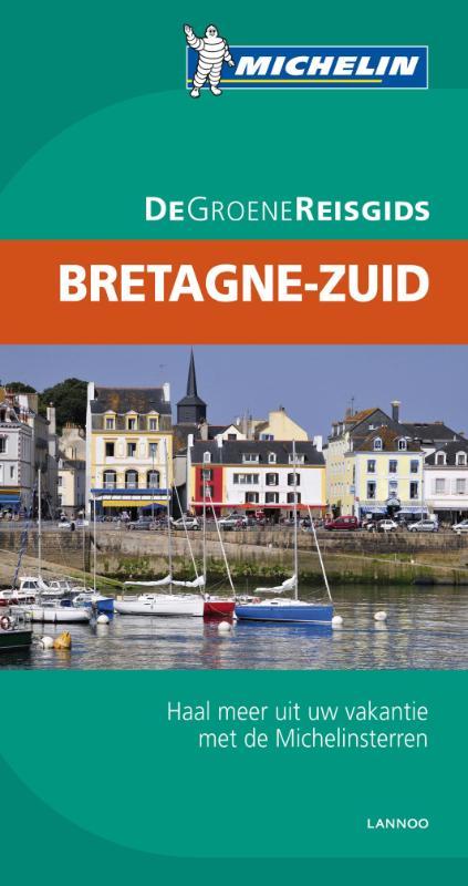 Reisgids Groene gids Bretagne zuid   Michelin