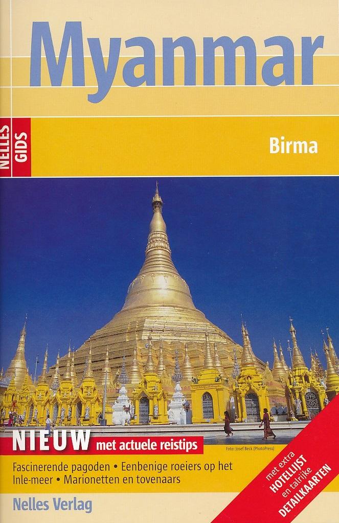 Reisgids Myanmar - Birma   Nelles