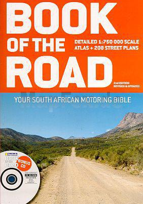 Wegenatlas Zuid Afrika - South Africa Book of the Road   Mapstudio