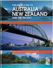 Reisgids Dream Routes of Australia and New Zealand   Monaco books   Monaco Books