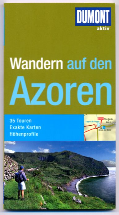 Wandelgids Wandern auf den Azoren   Dumont aktiv