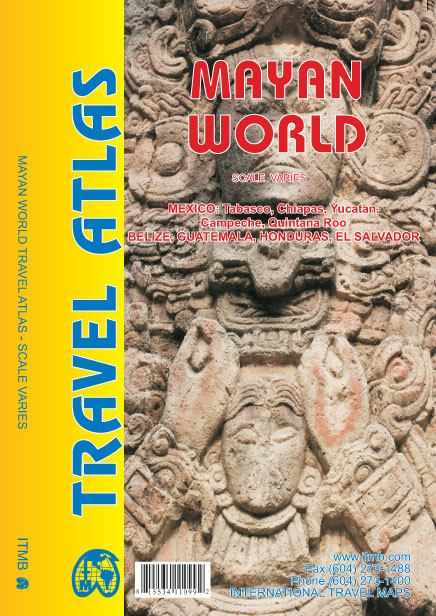 Wegenatlas Mayan World Travel Atlas - Maya regio   ITMB