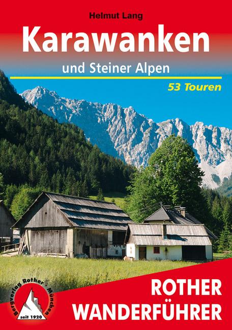 Wandelgids Karawanken un Steiner Alpen   Rother verlag