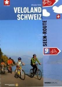 Fietsgids Seen-route 9 Veloland Schweiz   Werd Verlag