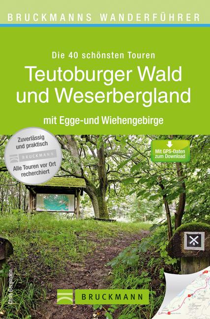 Wandelgids Teutoburger Wald und Weserbergland Wanderf�hrer   Bruckmann   Chris Bergmann