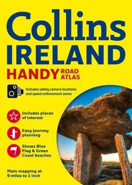 Wegenatlas Ierland - Collins Ireland Handy Road Atlas   Collins   Collins Uk