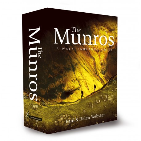 Wandelgids The Munros   Pocketmountains   Paul Webster,Helen Webster